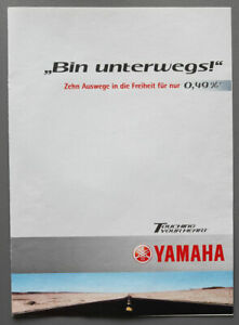 Prospekt Yamaha Modelle 2000