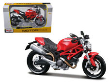 DUCATI MONSTER 696 RED 1/12 MOTORCYCLE MODEL BY MAISTO 31189