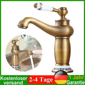 Retro Bad Waschtischarmatur Waschbecken Wasserhahn Badarmatur Mischbatterie DHL