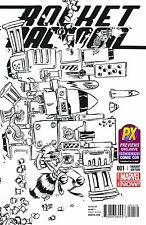 Rocket Raccoon 1 Vol 2 Rare Sdcc San Diego Comic Con Sketch Variant Nm
