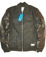 ADIDAS x RUN DMC Bomber Jacket Leather Coat JMJ Superstar 80s Retro OG DS Rare S