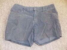 Pantalones cortos de Pana Cable Gris Vintage St Johns Bay Festival De Playa De Verano Talla 8 Petite