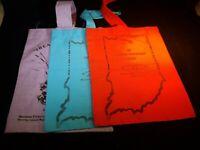 Vintage Order Of The Eastern Star Tote Bags