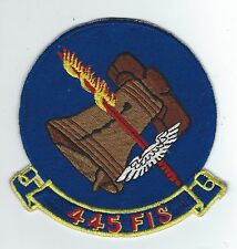 50's-60's 445th FIGHTER INTERCEPTOR (FIVE INCH JAPANESE MADE) patch