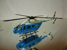 HELICOPTER - POLIZIA - POLICE - LIGHT BLUE - GOOD CONDITION
