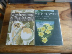 NEW NATURALIST MUSHROOMS AND TOADSTOOLS WILD FLOWERS