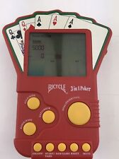 Bicycle Illuminated 3 in 1 Poker Electronic Travel Video Game 2004