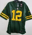 Nike Green Bay Packers Rodgers 12 Jersey Men Sz Lg