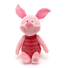 """Official Winnie the Pooh Piglet Plush Toy Soft Pig Doll Kids Gift New 17"""""""