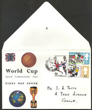 GB - 1966 - WORLD CUP SPECIAL COMMEMORATIVE ISSUE FIRST DAY COVER - 1 JU 66