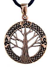 N° 47 Pendentif Arbre De Vie Bronze Yggdrasil Du Monde Monde-cendres Triskèle