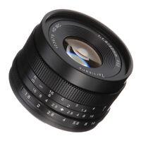 50mm F/1.8 Manual Focus Fixed Lens For Fujifilm Fuji X-mount X-A1/A2/E1/E2/T1/T2