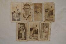 Cricket - Collectable - 1930's - Vintage Cricket Cards - Allen's x 7