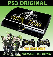 PLAYSTATION PS3 ORIGINAL DARK SIDE DARTH VADER STAR WARS SKIN & 2 PAD SKINS