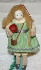 Heart Felts Midwest Of Cannon Falls 'Goldilocks' Felt Ornament Doll