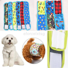 Reusable Male Dog Wrap Band Diaper Belly Physiological Nappy Sanitary Pant Cool