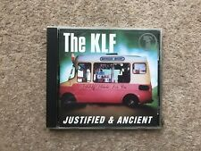 The KLF – Justified & Ancient - USA Promo - CD maxi-single