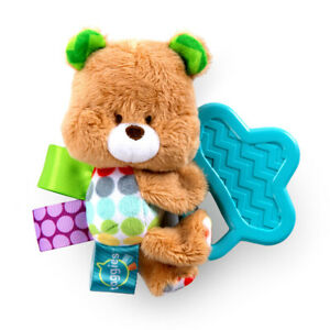 Bright Starts Taggies Chew and Soothe Pals Brown Bear