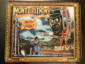 VTG - 80's Monty Python Complete Waste of Time Spot the Loony Mouse Pad - RARE
