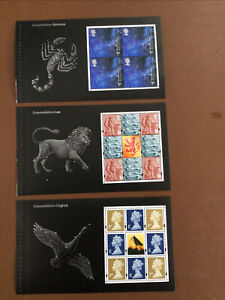 GB MNH  2002 Across The Universe BOOKLET PANES  DX29 FV £20.49