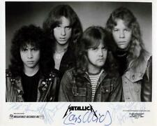 Reprint - Metallica Cliff Burton Band Signed 8 x 10 Glossy Photo Poster Rp