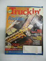 TRUCKIN' MAGAZINE FEBRUARY 2002 CADILLAC ESCALADE CLIP INSTALL 308 RWHP VORTEC