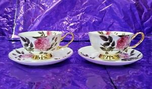Cup saucer fine bone china