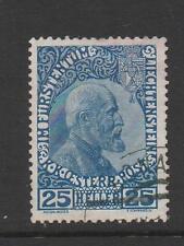 Used Single Liechtenstein Stamps