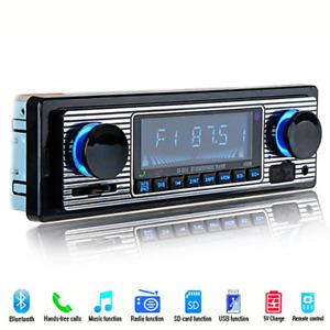 1pc Car Accessories Bluetooth FM Radio MP3 Player USB Stereo Audio Receiver AUX