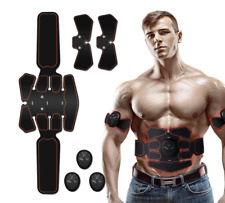 ABS EMS Slim Muscle Stimulator Abdominal Toner Trainer Toning Belt + Machine