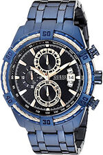 GUESS Men's Chronograph Date Display Black Dial Watch W0522G3