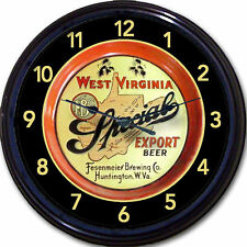 Fesenmeier Brewing Co Huntington WVA Beer Tray Wall Clock Ale Lager Brew Pub 10""