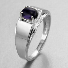 Lovely Amethyst Silver Ring ~ Size 9