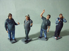4  FIGURINES  1/ 43  SET 40  ROUTIERS TRUCKS  VROOM  A   PEINDRE  UNPAINTED  KIT