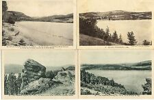 Lot 4 cartes postales LAC D'ISSARLES 1