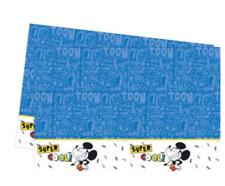 Boys Official Mickey Mouse Party Table Cover Cloth 120cm x 180cm Reusable