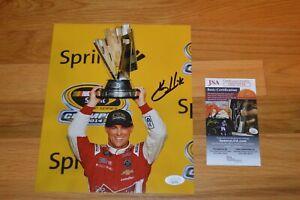 Kevin Harvick ~ NASCAR ~ Autographed 8x10 Color Photo with JSA COA