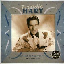Freddie Hart ( sp ) Snatch It And Grab It /  Dig Boy Dig 45 Rockabilly repro NEW