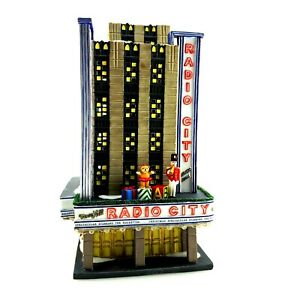 Department 56 RETIRED Christmas in the City | Radio City Music Hall | RARE 2002