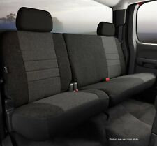 Fia OE32-30 Custom Fit Rear Seat Cover Tweed Charcoal Fits: 2011-2012 Ford F-150