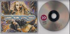 Doro Fight GER Adv CD 2002 Tourdate/Bio Cover