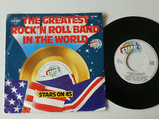 """Stars On 45 The Greatest Rock'n Roll Band In The World 7"""""""