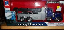 New Ray LONG HAULER KENWORTH W900 DUMP WRECKER 1:32 SCALE