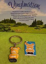 "Disney Vinylmation 1.5"" Park Set 2 Junior Jr Color Block Finding Nemo w/ Sticker"