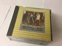 Rick Wakeman The Six Wives of Henry VIII CD (CDA 3229) UK PRESS AUDIO MASTER PL