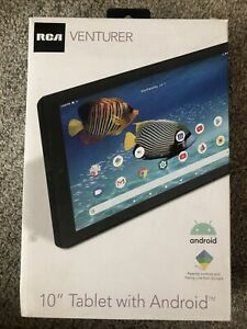 RCA Venturer 10inch Android Tablet with Family Link 16gb, dual cams, 1200x800res