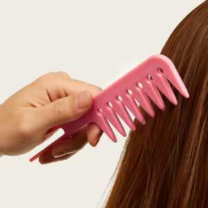 Oil Head Comb Back Wide Tooth Comb Hair Styling Color Comb Fluffy Hair Dye C W8E