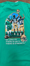 Notre Dame Mens Football T-Shirt 52%/Cotton/48% Polyester size Large