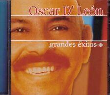Oscar d Leon Grandes Exitos Oscar de leon CD New Nuevo Sealed