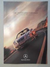 MERCEDES Benz Clk Avantgarde Coupe & Cabriolet ORIG UK 1999 Mkt opuscolo di vendita